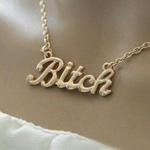 Jewelry - Bitch necklace